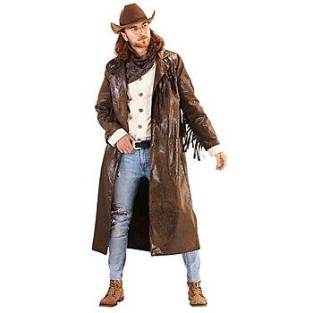 Manteau Western 'Cowboy', marron