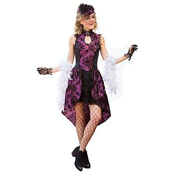 Kostüm Saloongirl 'Victoria', lila
