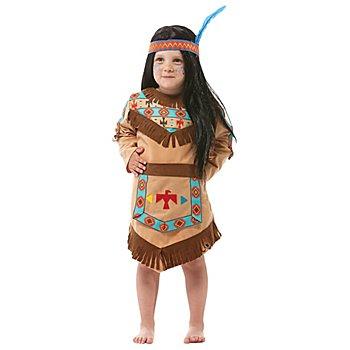 Indianer Kostüm für Kinder, hellbraun