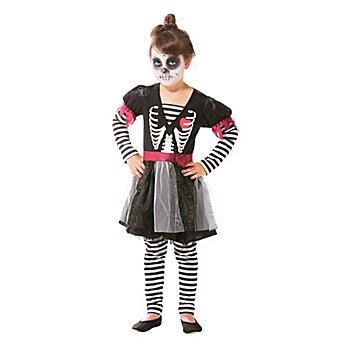 Skelett Kleidchen für Kinder