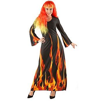 Halloween Kostüm 'Feuerzauber' für Damen
