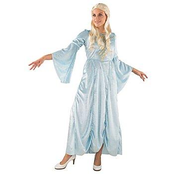 Robe de princesse 'fantaisie', bleu glacier