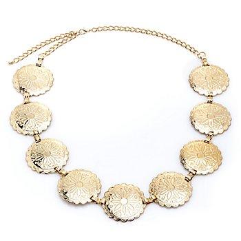 Halskette 'Siegeskranz', gold