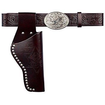 Cowboygürtel 'Adler', braun