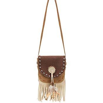 Indianer Tasche, braun/beige