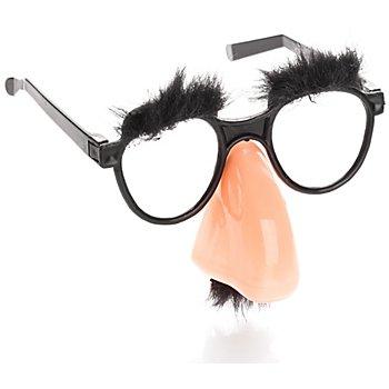 Brille mit Nase