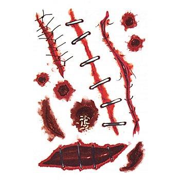 Klebetattoo-Set 'Halloween'