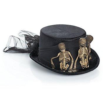Halloween Zylinder 'Skelett'