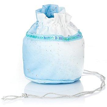 buttinette Tasche Einhorn, weiß/hellblau