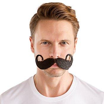 Moustache 'Jean-Jacques', noir