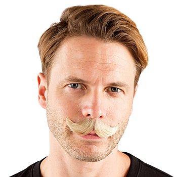 Moustache 'Alphonse', blond