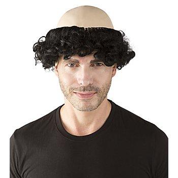Perruque 'Scélérat', noir