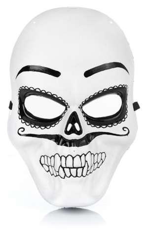 Mexikanische Totenmaske Fur Herren Online Kaufen Buttinette