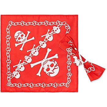 Piratentuch, rot/weiss, 2 Stück