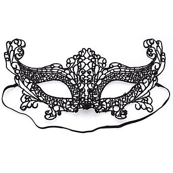Fantasy Maske 'Venezia', schwarz