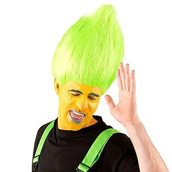 Perruque 'troll', vert