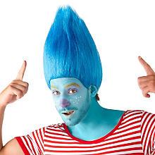 Perücke 'Fantasy', blau