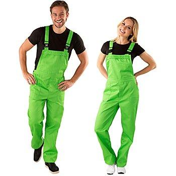 Latzhose unisex, grün