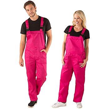 Latzhose unisex, pink