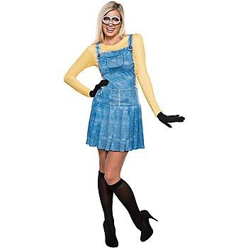 Universal Déguisement Minion, pour femmes, bleu