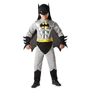 DC Comics Déguisement Batman pour enfants, gris