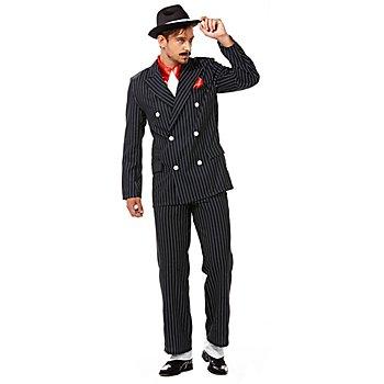 Anzug Giovanni, schwarz/weiss