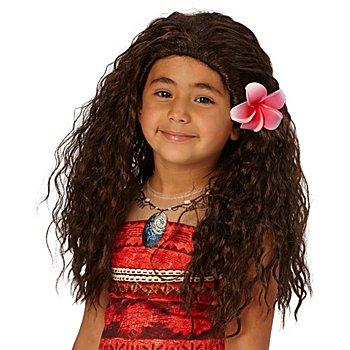 Disney Perruque pour enfants 'Vaiana', marron