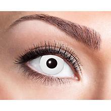 Kontaktlinsen 'White Zombie', Tageslinsen