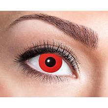 Kontaktlinsen 'Red Devil', Tageslinsen