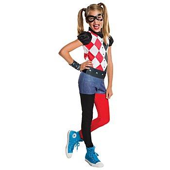 DC Comics Harley Quinn Kostüm für Kinder