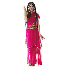 buttinette Bollywood-Rock 'India', pink