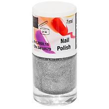 FANTASY Nagellack Glitter, silber