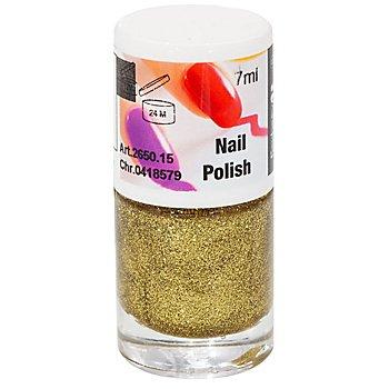 FANTASY Nagellack Glitter, gold