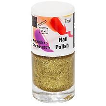 FANTASY Vernis à ongles avec des paillettes dorées
