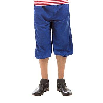 Kniebundhose, blau