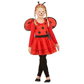 Marienkäfer-Kleid 'Pünktchen' für Kinder