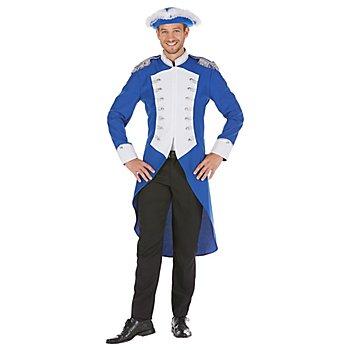 buttinette Gardefrack im Major-Stil, blau