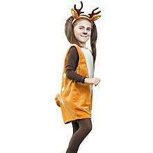buttinette Costume 'chevreuil' pour enfants, marron/écru