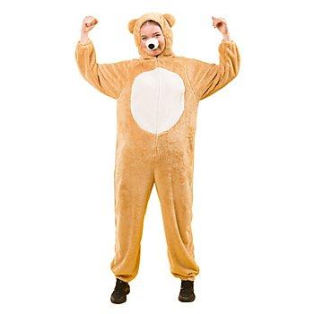 buttinette Déguisement 'ours brun' pour enfants, marron