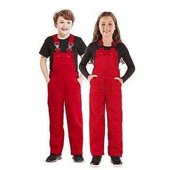 Salopette pour enfants, rouge