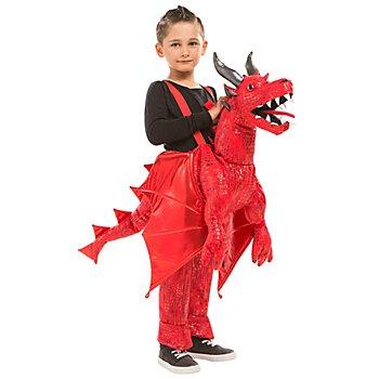 Huckepack Kostüm 'Little Dragon' für Kinder