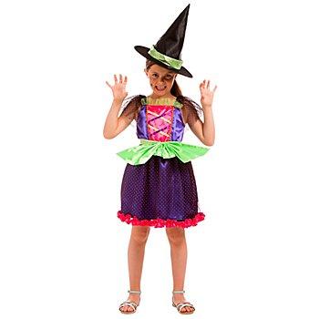 Hexen Kostüm 'Little Witch' für Kinder