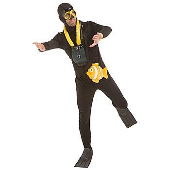 Taucher Kostüm für Herren