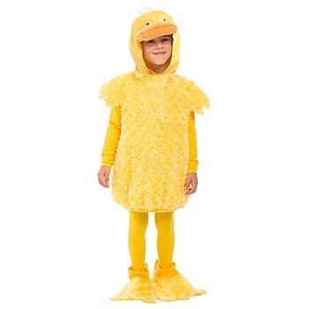 buttinette Costume 'canard' pour enfants, jaune