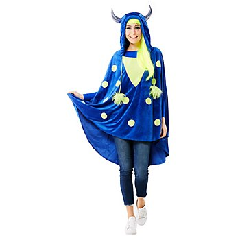 buttinette Monster Poncho, unisex