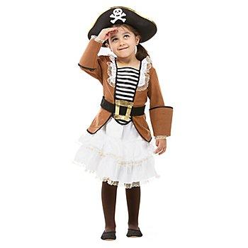 Piratin Kostüm 'Mary' für Kinder