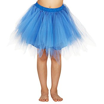 Tutu für Kinder, blau