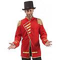 buttinette Veste de cirque pour hommes, rouge