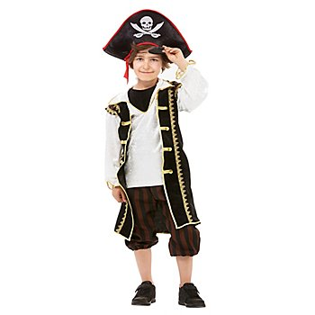 Piratenkapitän 'Black Jack' Kostüm für Kinder