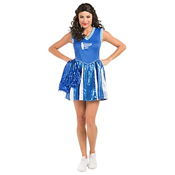 buttinette Robe de pom-pom girl 'Eagle', bleu/blanc